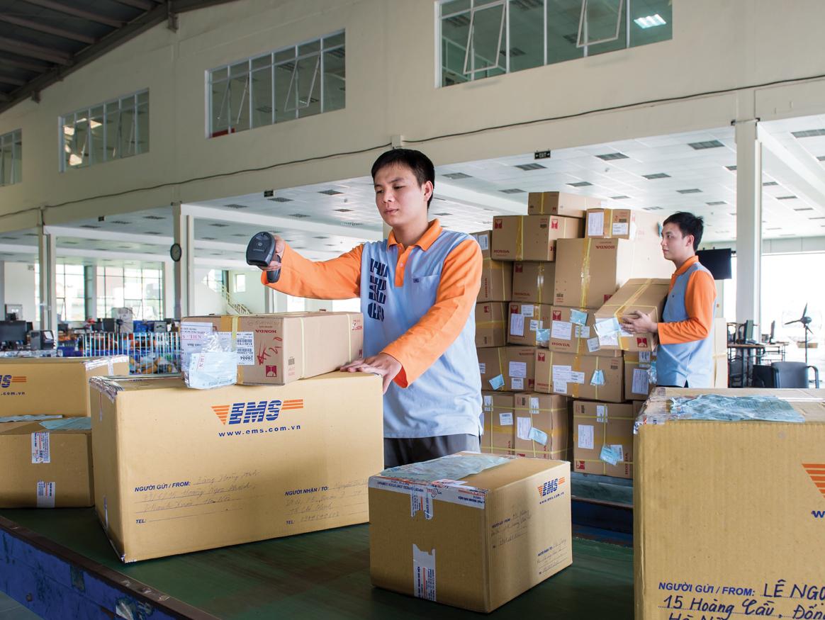 Dich vu chuyen phat nhanh quan Go Vap chat luong cung EMS Viet Nam, Dịch vụ chuyển phát nhanh quận Gò Vấp chất lượng cùng EMS Việt Nam
