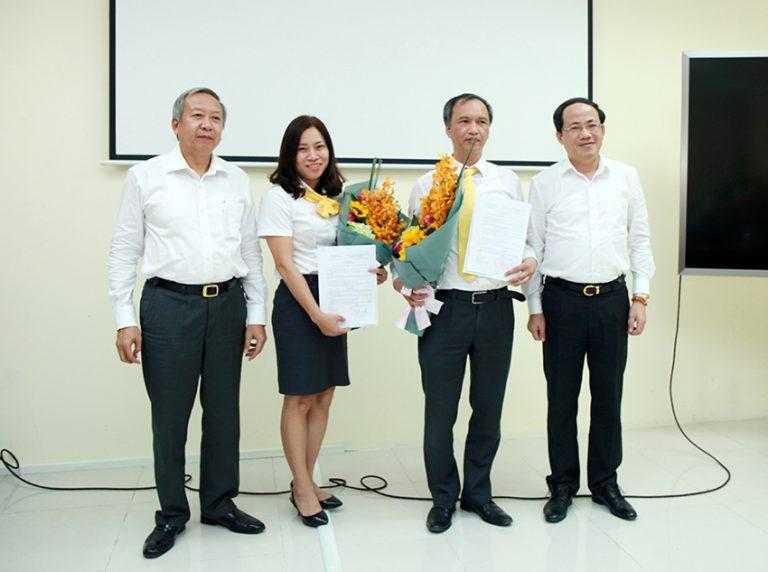 Tổng công ty Bưu điện Việt Nam bổ nhiệm cán bộ