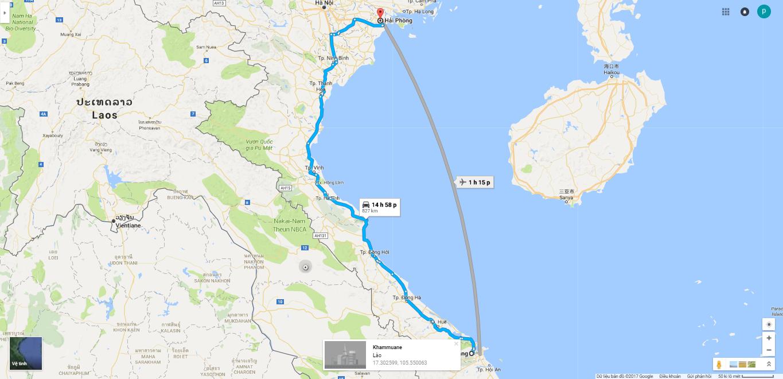827km tu Da Nang den Hai Phong, chuyen phat nhanh Da Nang Hai Phong uy tin