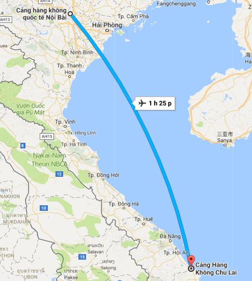 Chuyển phát nhanh Hà Nội – Chu Lai nhanh chóng, đảm bảo