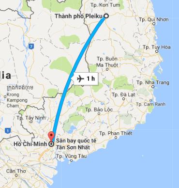 Bất ngờ với tốc độ chuyển phát hỏa tốc Sài Gòn – Pleiku của EMS Việt Nam