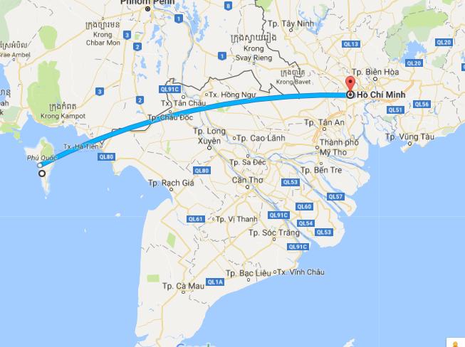 Chuyển phát hỏa tốc Sài Gòn - Phú Quốc giá ngày càng rẻ hơn nữa