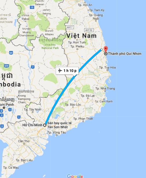 Chuyển phát nhanh Sài Gòn Quy Nhơn giá rẻ, uy tín