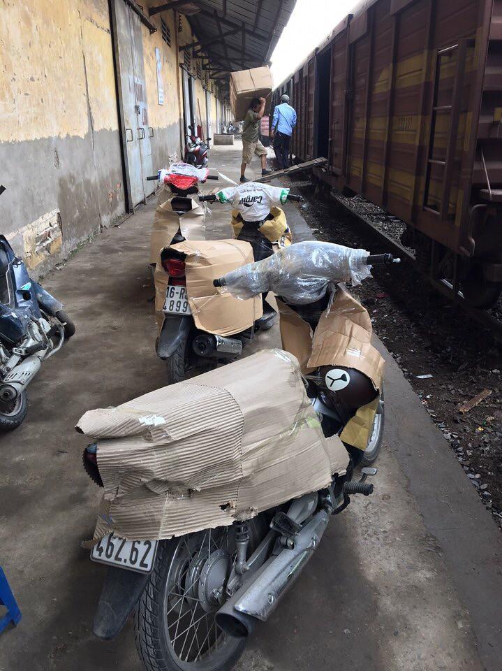 Gửi xe máy hai chiều Hà Nội – Sài Gòn đảm bảo, nhanh chóng, uy tín