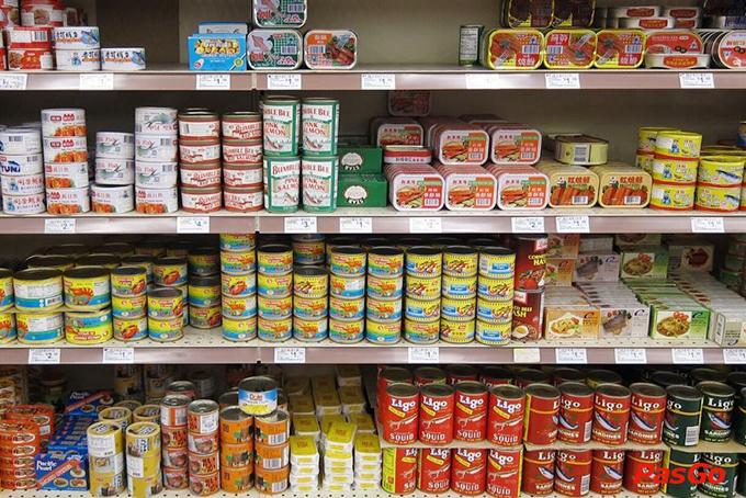 Chuyển hàng thực phẩm đóng hộp đi Đức nhanh gọn, tiết kiệm